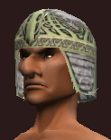 Spiritualist's Coif of the Spiritcaller (Equipped)