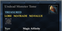 Undead Monster Tome
