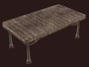 A pristine standard alder table (Visible)