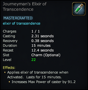 Journeyman's Elixir of Transcendence
