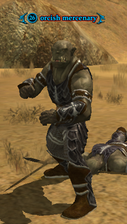 Orcish mercenary