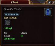 Scout's Cloak