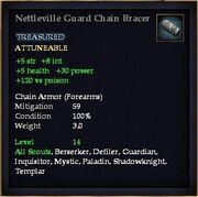 Nettleville Guard Chain Bracer