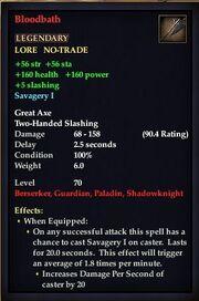Bloodbath (Great Axe)