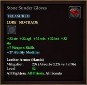 Stone Sunder Gloves