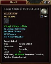Round Shield of the Field Lord
