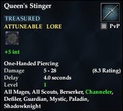 Queen's Stinger