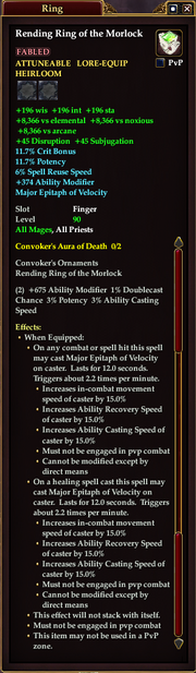 Rending Ring of the Morlock