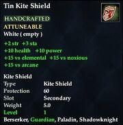 Tin Kite Shield