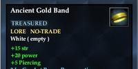 Ancient Gold Band