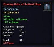 Flowing Robe of Radiant Hues
