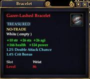 Gazer-Lashed Bracelet