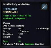 Tainted Fang of Andiza