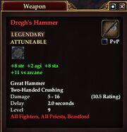 Dregh's Hammer