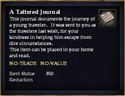 A Tattered Journal