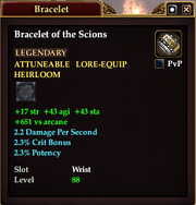 Bracelet of the Scions