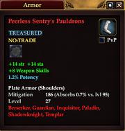 Peerless Sentry's Pauldrons