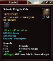 Scionic Knights Orb
