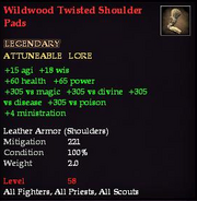 Wildwood Twisted Shoulder Pads