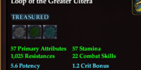 Loop of the Greater Ultera