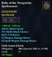 Robe of the Vesspyrian Spellweaver