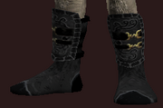 Occultist's Shoes of the Citadel (Equipped)