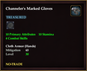 Channeler's Marked Gloves