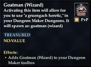 Goatman (Wizard)
