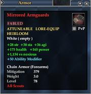 Mirrored Armguards