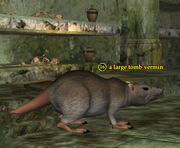 A large tomb vermin