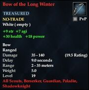 Bow of the Long Winter