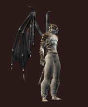 Nightmare Flight Wings (Equipped)
