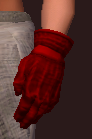Snappy Red Gloves (Equipped)