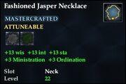 Fashioned Jasper Necklace