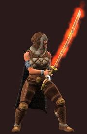 Prodigious Razing Sword of Skarlon (Equipped)