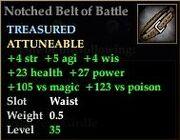 Notched Belt of Battle