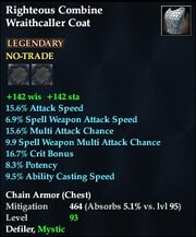 Righteous Combine Wraithcaller Coat