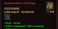 Tundrawalker's Earrings