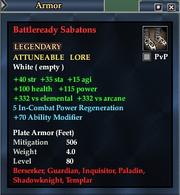 Battleready Sabatons
