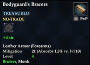 Bodyguard's Bracers