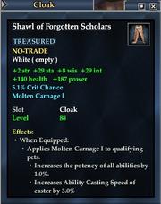 Shawl of Forgotten Scholars
