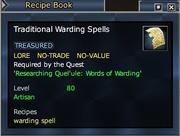 Traditional Warding Spells
