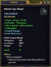 Mind's Eye Hood