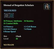 Shroud of Forgotten Scholars
