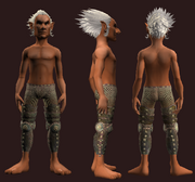 Plunderer's Small Link Chain Leggings (Equipped)
