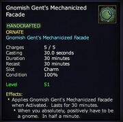 Gnomish Gent's Mechanicized Facade