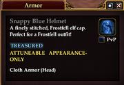 Snappy Blue Helmet