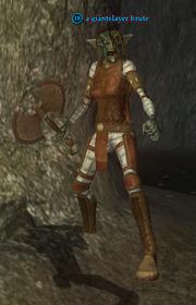 A giantslayer brute