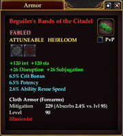 Beguiler's Bands of the Citadel