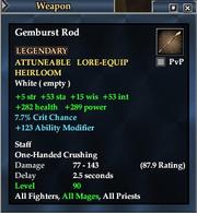 Gemburst Rod